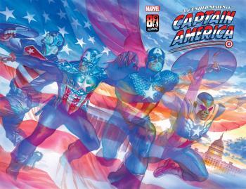 United States Captain America #1 Poster