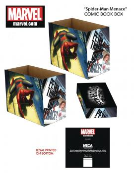 Marvel Spider-Man Menace Short Comic Storage Box (One Box + Lid)