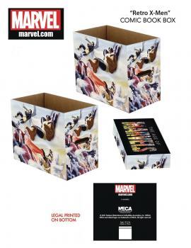 Marvel Retro X-Men Short Comic Storage Box (One Box + Lid)