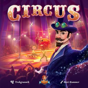 Circus Card Game - EN/DE/FR/NL