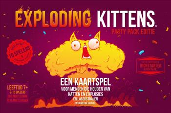 Exploding Kittens NL Card Game Party Pack