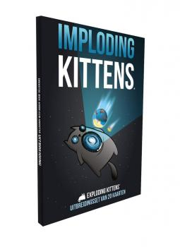 Exploding Kittens NL Card Game Imploding kittens
