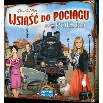 Ticket to Ride Board Game - Poland - EN/PL