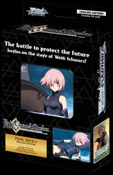 Weiß Schwarz Collectible Card Game - Fate/Grand Order Absolute Demonic Front Babylonia - Trial Deck(Plus) EN