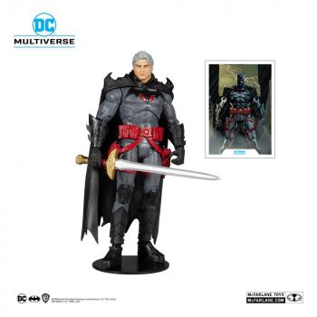 DC Multiverse Action Figure - Thomas Wayne Flashpoint Batman (Unmasked)