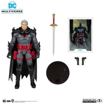 DC Multiverse Action Figure - Thomas Wayne Flashpoint Batman (Unmasked)
