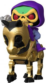 Masters Of The Universe Pop Rides Vinyl Figure - Skeletor with Night Stalker