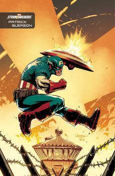 Captain America Vol 9 #27 Cover C Incentive Patrick Gleason Stormbreakers Variant Cover