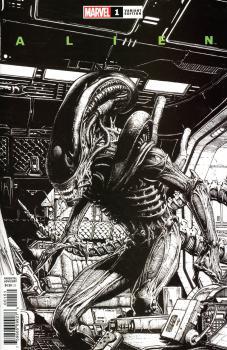 Alien #1 Cover P Incentive David Finch Launch Sketch Cover