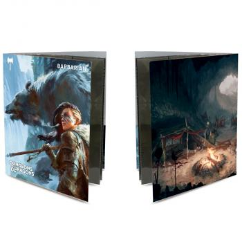 Ultra Pro Class Folio with Stickers for Dungeons & Dragons - Barbarian