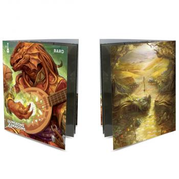 Ultra Pro Class Folio with Stickers for Dungeons & Dragons - Bard