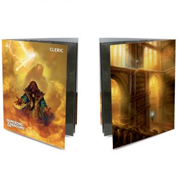 Ultra Pro Class Folio with Stickers for Dungeons & Dragons - Cleric