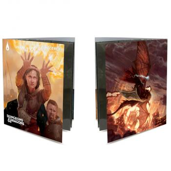 Ultra Pro Class Folio with Stickers for Dungeons & Dragons - Sorcerer