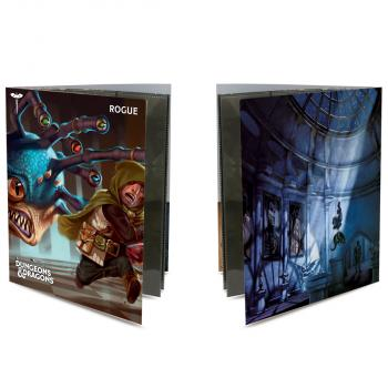 Ultra Pro Class Folio with Stickers for Dungeons & Dragons - Rogue