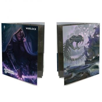 Ultra Pro Class Folio with Stickers for Dungeons & Dragons - Warlock