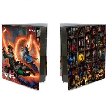 Ultra Pro Class Folio with Stickers for Dungeons & Dragons - Wizard