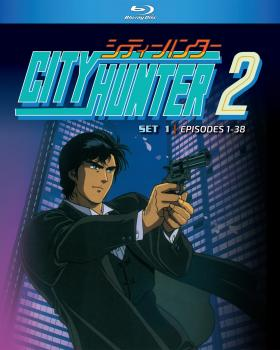 City Hunter Season 02 Part 01 Blu-ray