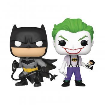 DC Comics Pop Vinyl 2-Pack - Batman White Knight Batman/Joker (SDCC 2021 Previews Exclusive)