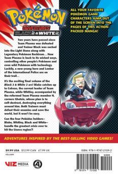 Pokemon Adventures Black 2 & White 2 vol 04 GN Manga