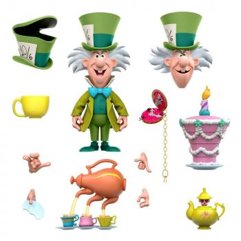 Alice in Wonderland Disney Ultimates Action Figure - The Tea Time Mad Hatter