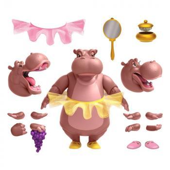 Fantasia Disney Ultimates Action Figure - Hyacinth Hippo