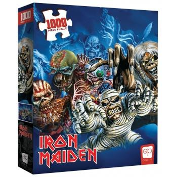 Iron Maiden Jigsaw Puzzle - The Faces of Eddie (1000 pieces)