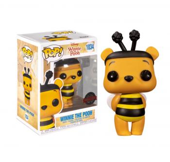Disney's Winnie the Pooh Pop Vinyl Figure - Pooh (Bee) (Special Edition)