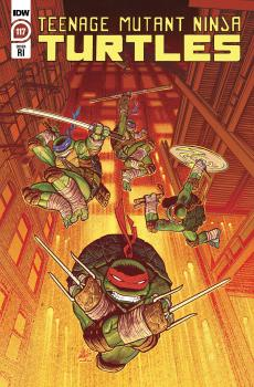 TMNT ONGOING #117 SAM LOFTI 1:10 VAR