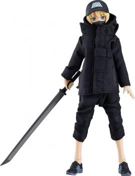 Original Character Action Figure - Figma Female Body Yuki with Techwear Outfit