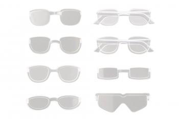 Sousai Shojo Teien Model Kit Accessory Set - After School Glasses Set 1/10
