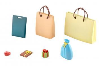 Sousai Shojo Teien Model Kit Accessory Set - After School Present Set 1/10