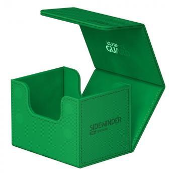 Ultimate Guard Sidewinder 100+ XenoSkin Monocolor Green