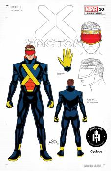 X-FACTOR #10 DAUTERMAN CYCLOPS DESIGN 1:50 VAR