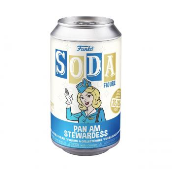Pan Am Ad Icons Vinyl Soda Figure - Stewardess