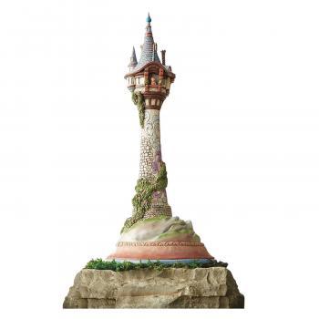 Disney Masterpiece Rapunzel Tower 18 inch Statue