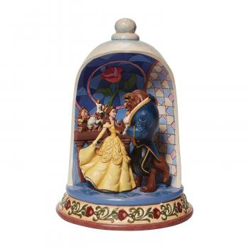 Disney Traditions Beauty & The Beast Dome 10.3 inch Statue