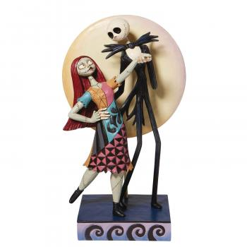 Disney Traditions NBX Jack And Sally Romance 9 inch Statue