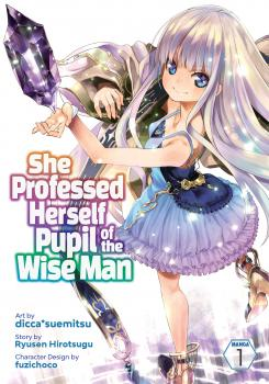 She professed herself Pupil of the Wise man vol 01 GN Manga