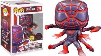 Miles Morales Spider-Man PS Pop Vinyl Figure - Spider-Man (GITD / Programable Matter Suit) (Special Edition)