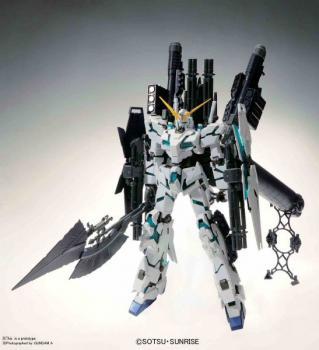 Mobile Suit Gundam Plastic Model Kit - MG 1/100 Gundam Unicorn RX-0 Full Armor Ver Kai
