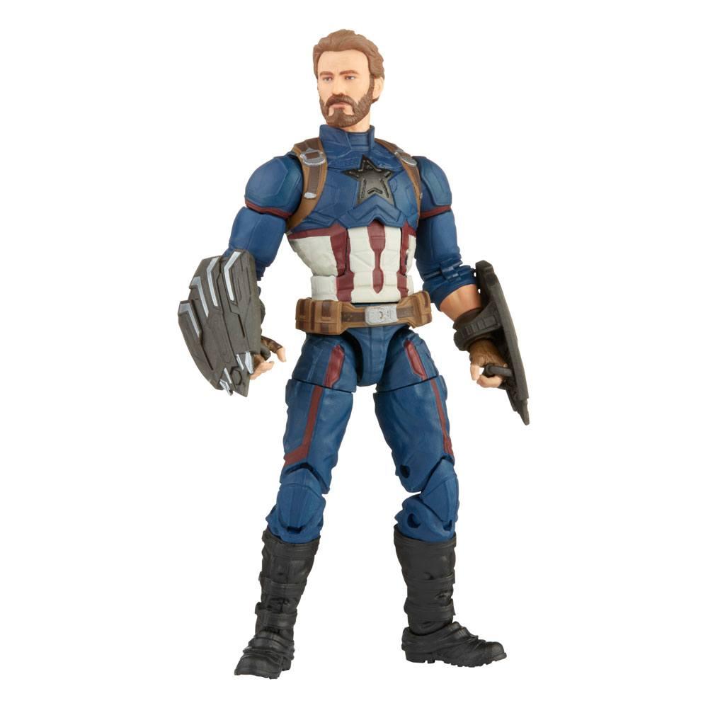 Achetez Figurine D Action The Infinity Saga Marvel Legends Action Figure Captain America Avengers Infinity War Archonia Com