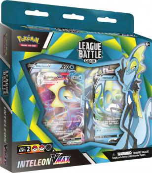 Pokemon TCG Inteleon VMAX League Battle Deck