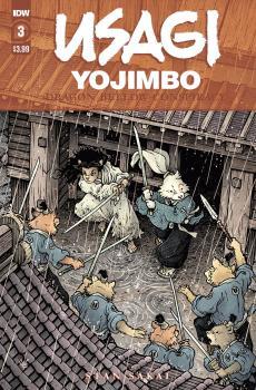 USAGI YOJIMBO DRAGON BELLOW CONSPIRACY #3 (OF 6)
