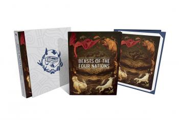 Beasts Of 4 Nations Creatures From Avatar DLX HC (Hardcover)