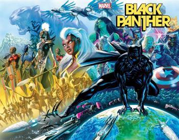 BLACK PANTHER #1 POSTER