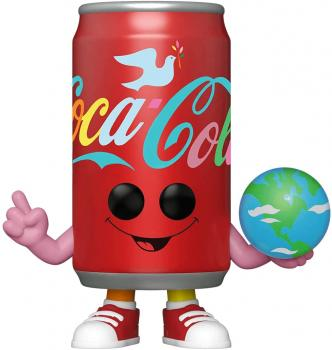Ad Icons Pop Vinyl Figure - Coca-Cola ''I'd like to buy the world a Coke'' Can
