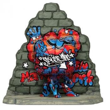 Graffiti Deco Deluxe Pop Vinyl Figure - Spider-Man (Special Edition)