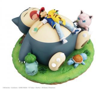 Pokemon PVC Figure - Nap with Snorlax