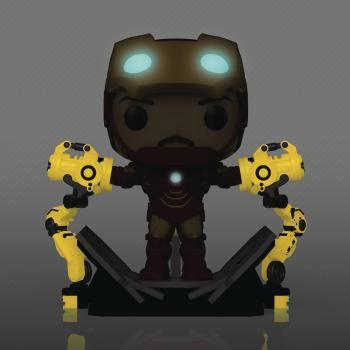 Iron Man 2 Deluxe Pop Vinyl Figure - Iron Man MKIV With Gantry (Glow in the Dark) (Previews Exclusive)