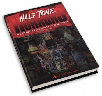 Halftone Horror History Of Horror Movie Comics HC